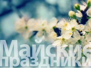 Как отдыхают на майские праздники