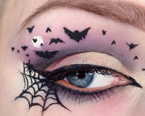 Грим на хеллоуин