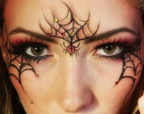 Как разукрасить себя на хеллоуин